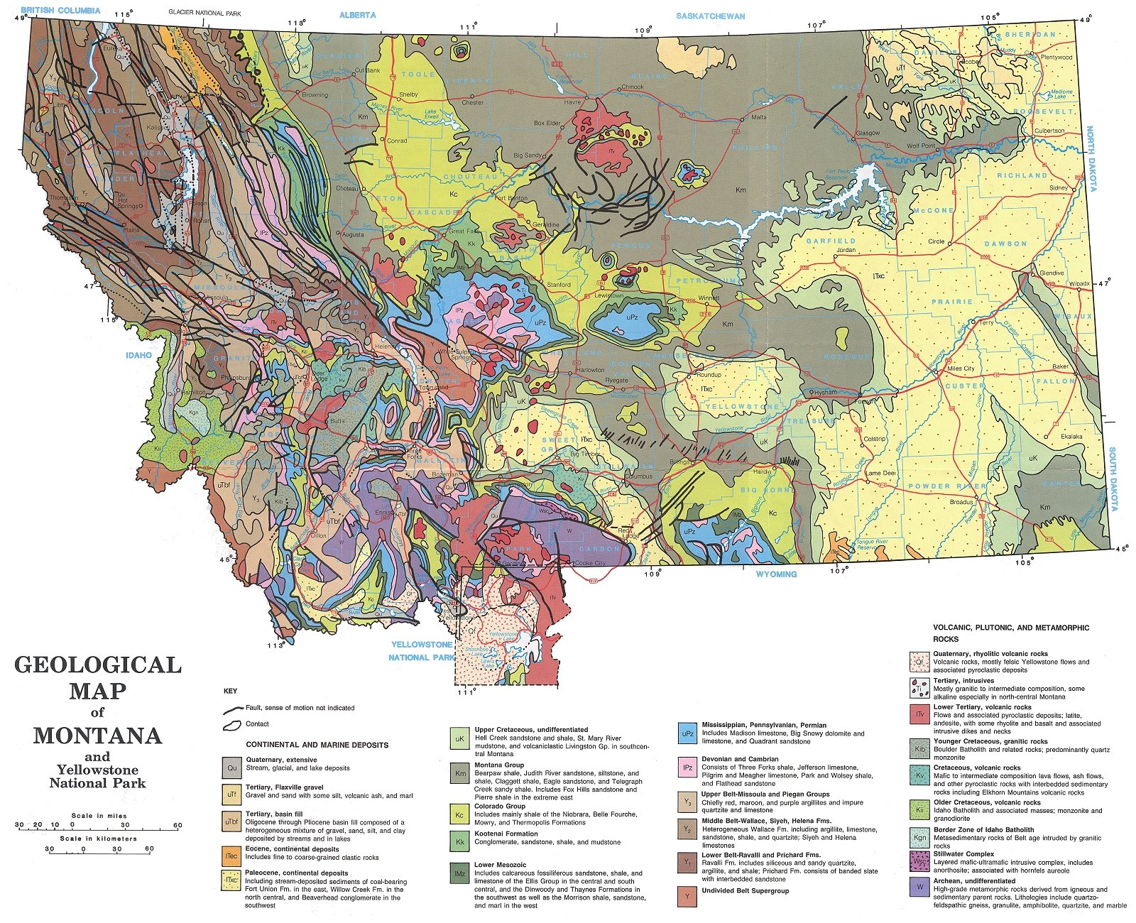 Madison River Montana Map.Montana Earth Science Picture Of The Week